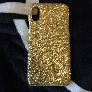 Accessories - Iphone x/xs glitter case